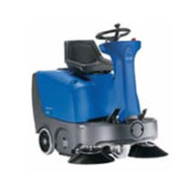 FLOORTEC R 360 P/B Ride On Sweeper Available in Battery & Petrol Versions