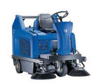 FLOORTEC R 580 P/B Ride On Sweeper Available in Battery &Petrol Versions